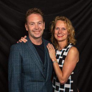 Yvonne de eigenaar met haar man Marcel